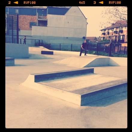 Mudchute skatepark, this place is so much fun.